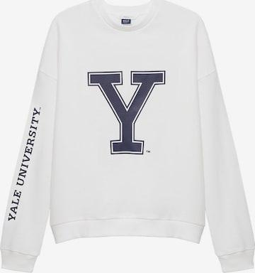 MANGO KIDS Sweatshirt i vit