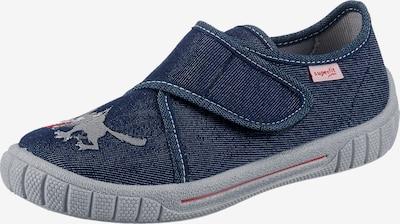 SUPERFIT Mājas apavi 'Bill', krāsa - zils džinss / pelēks, Preces skats