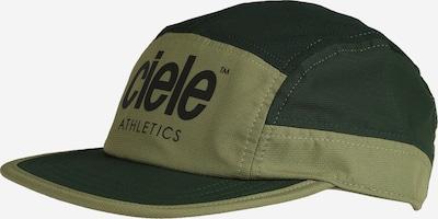 CIELE ATHLETICS Cap in oliv / dunkelgrün / schwarz, Produktansicht