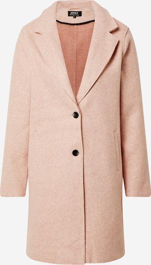 ONLY Manteau mi-saison en rose chiné, Vue avec produit