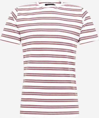 Matinique T-Shirt 'Jermane' en bleu foncé / orange foncé / blanc cassé, Vue avec produit