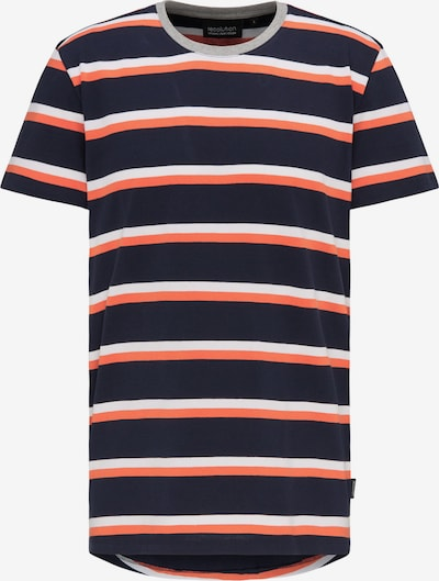 recolution T-Shirt Heavy STRIPES in blau / mischfarben, Produktansicht