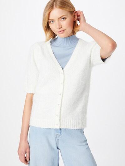 VILA Strickjacke in weiß, Modelansicht