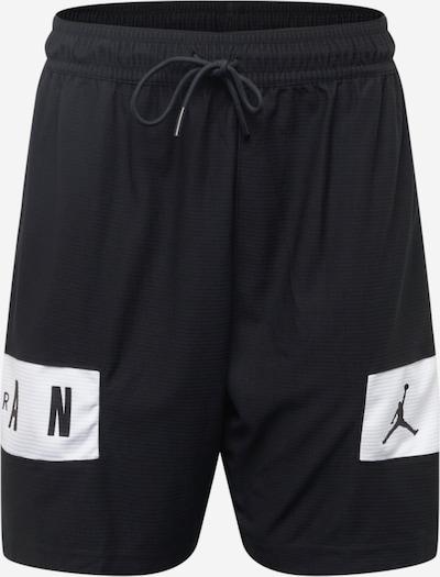 Jordan Pantalon de sport en noir / blanc, Vue avec produit