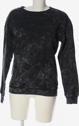 Koton Sweatshirt in M in hellgrau / schwarz, Produktansicht