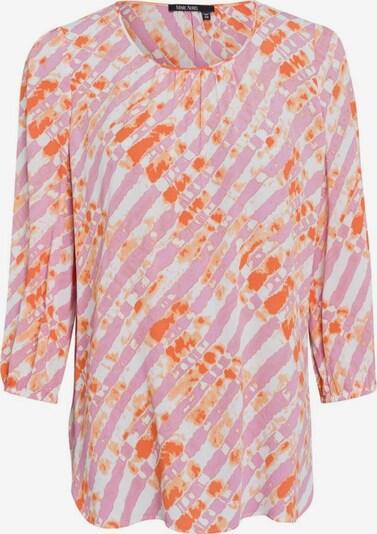 MARC AUREL Bluse in orange / dunkelorange / hellpink / weiß, Produktansicht