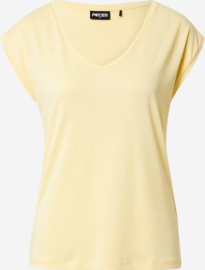 PIECES Shirt 'KAMALA' in hellgelb, Produktansicht