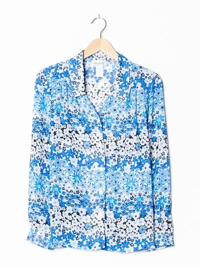 Blair Blumenbluse in XL in blau, Produktansicht