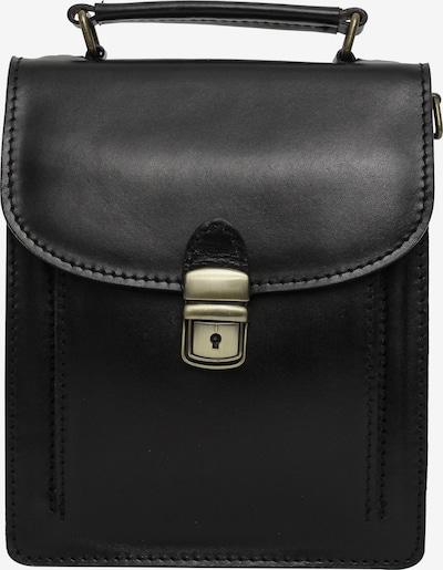 Gusti Leder Umhängetasche 'Salvatore' in schwarz, Produktansicht