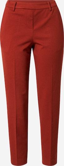 Pantaloni cutați 'Mia' TOM TAILOR pe roșu / roșu ruginiu, Vizualizare produs