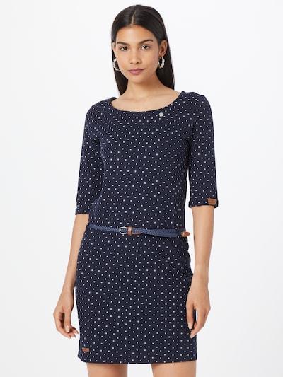 Ragwear Dress 'TAMY' in Night blue / Caramel / White, View model