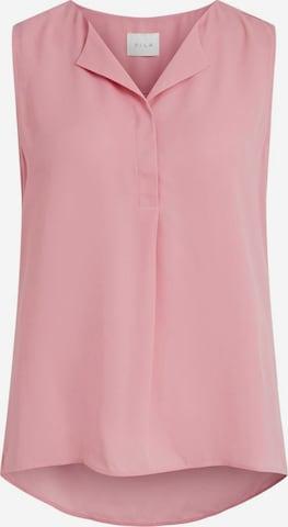 VILA Blouse in Pink