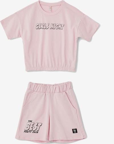 DeFacto Set in rosa / schwarz, Produktansicht