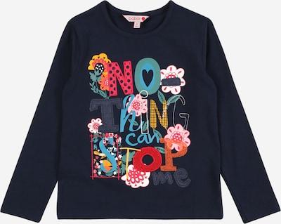 Boboli T-Shirt 'Blumen' in marine, Produktansicht