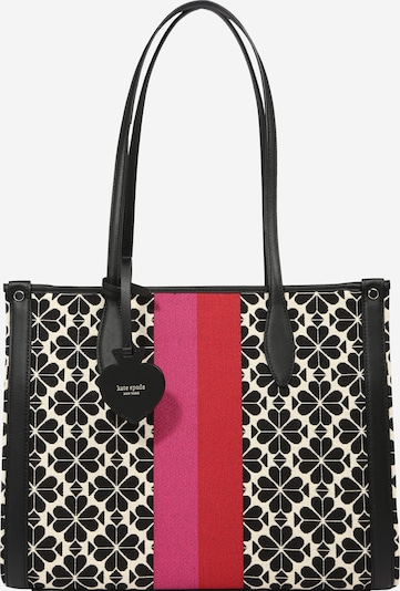 "Kate Spade ""Shopper"" tipa soma 'SPADE FLOWER', krāsa - bēšs / rozā / sarkans / melns, Preces skats"