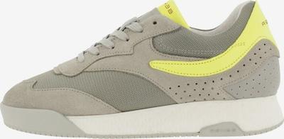 Rehab Sneaker ' AVERY FLUO ' in neongelb / grau, Produktansicht