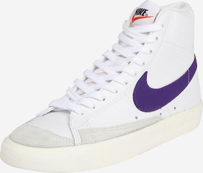 Nike Sportswear Sneakers hoog in de kleur Blauw / Wit, Productweergave