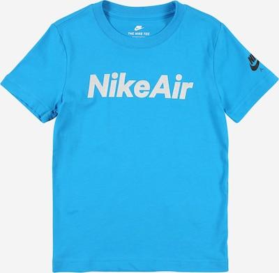 Nike Sportswear Shirt in de kleur Blauw / Wit, Productweergave