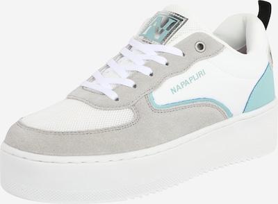 Sneaker bassa NAPAPIJRI di colore turchese / grigio / bianco, Visualizzazione prodotti