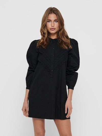 JDY Jurk 'Mumbai' in de kleur Zwart, Modelweergave