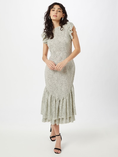Chi Chi London Kleid 'Caggie' in beige / schwarz, Modelansicht