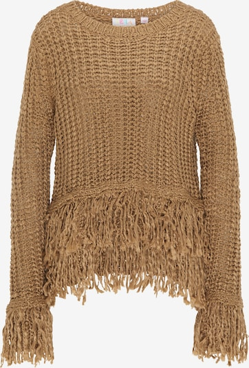 IZIA Pullover in hellbraun, Produktansicht