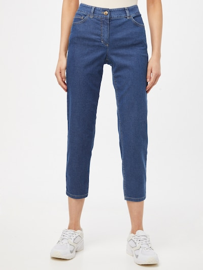 GERRY WEBER Jeans in blue denim, Modelansicht