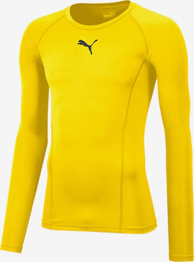 PUMA Unterwäsche in gelb / schwarz, Produktansicht