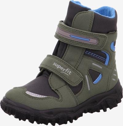 SUPERFIT Snowboots 'Husky' in cyanblau / dunkelgrau / dunkelgrün, Produktansicht