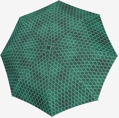 KNIRPS Regenschirm 'T.200' in grau / grün, Produktansicht