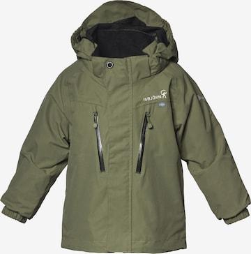 Isbjörn of Sweden Outdoor jacket 'STORM' in Green