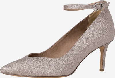 TAMARIS Pumps in rosegold: Frontalansicht