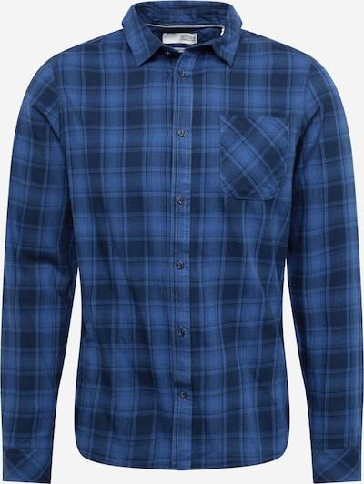 !Solid Button Up Shirt 'Varick' in Blue / Dark blue, Item view