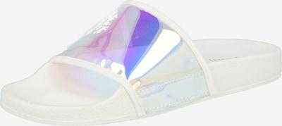 Raid Mule 'FALON' en violet / blanc, Vue avec produit