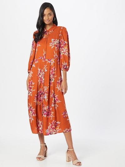 MAX&Co. Kleid 'TRITARE' in dunkelorange / rot, Modelansicht