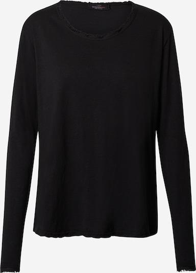 Zwillingsherz Shirt  'Alina' in schwarz, Produktansicht