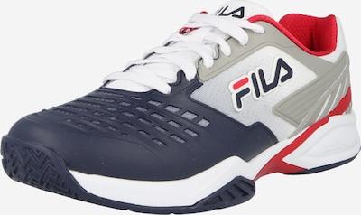 FILA Sportschuh 'Axilus' in dunkelblau / grau / rot / weiß, Produktansicht