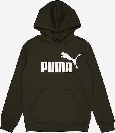 PUMA Sweatshirt in oliv / weiß, Produktansicht