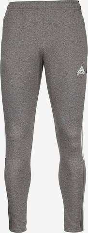 ADIDAS PERFORMANCE Workout Pants 'Tiro 21' in Grey