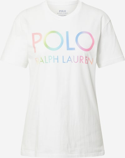 POLO RALPH LAUREN Shirt in Neon blue / Apple / Neon pink / Pastel pink / White, Item view