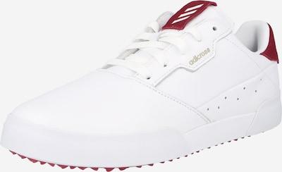 Pantofi sport 'RETRO' adidas Golf pe roșu bordeaux / alb, Vizualizare produs