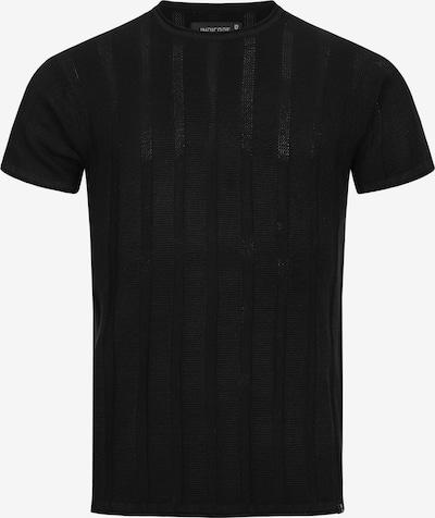 INDICODE JEANS T-Shirt ' Atkinson ' in schwarz: Frontalansicht