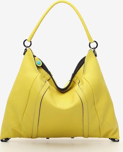 Gabs Siria Shopper Tasche Leder 45 cm in gelb, Produktansicht
