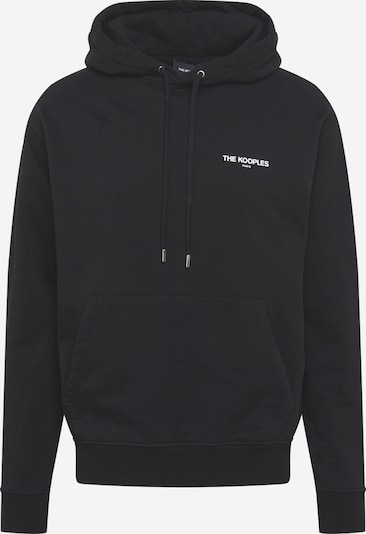 The Kooples Sweat-shirt en gris / noir / blanc, Vue avec produit