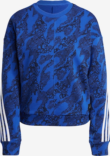 ADIDAS PERFORMANCE Sportief sweatshirt in de kleur Nachtblauw / Royal blue/koningsblauw / Wit, Productweergave