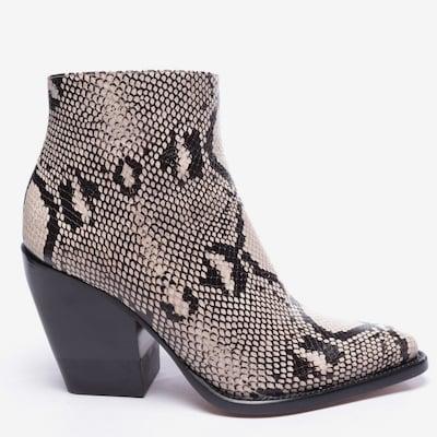 Chloé Dress Boots in 40 in Beige / Black, Item view