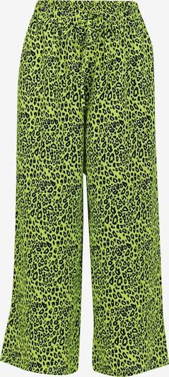 MYMO Pantalon en vert fluo / noir, Vue avec produit