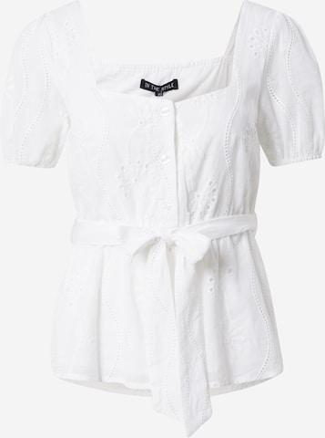 Bluză 'JAC JOSSA' de la In The Style pe alb