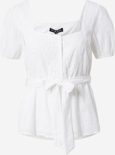 In The Style Bluse 'JAC JOSSA' in weiß, Produktansicht