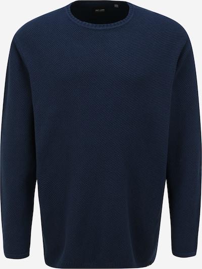 Only & Sons Big & Tall Pullover 'DAN' in dunkelblau, Produktansicht